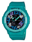 Casio Womens Baby G Standard Analog Watch - Green