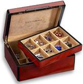 Venlo Triple Burlwood Collection 16 Cufflink Case