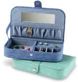 Slim Jewelry Box Medium - Blue