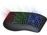 3COLORS ILLUMINATED 2X USB KEYBOARD
