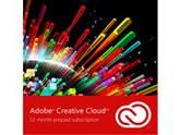 Adobe Creative Cloud Membership - 12 Month Subscription - Digital Delivery