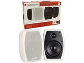 "5.25"" (100W) Indoor/Outdoor Speakers - 2 Piece Set - White - AudioSource"