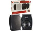 "5.25"" (100W) Indoor/Outdoor Speakers - 2 Piece Set - Black - AudioSource"