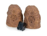 C2g Sandstone Wireless Rock Speaker Bundle (rechargeable)