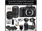Canon EOS 7D Digital SLR Camera w/ 2 Lens Kit