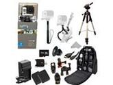GoPro HERO3: Silver Edition Camera (CHDHN-301) + Action Pro Series All In 1 ATV/Bike Kit Designed for Bike Mount Motorcross, ATV, ROAD, MOUNTAIN, snowmobile + E