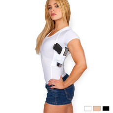 Womens Concealed Carry  Scoop Neck Shirt