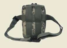 Tactical Belt Pistol Pack and Holster with nylon waist belt