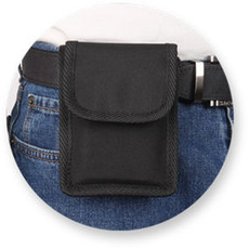 Black Nylon Inside the Pants Concealed Cell Phone Holster