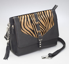 Zebra Chic  Gun Holster Clutch/ Crossbody