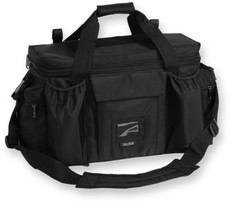 Extra Large Deluxe - Black Police & Shooter Range Bag with Strap