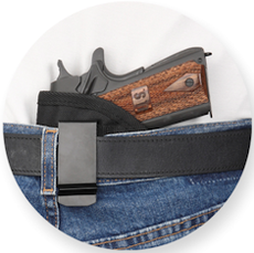 Black Inside Pants Holster