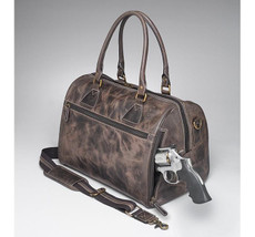 CZY-03 Ccw Leather Duffel