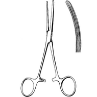 """Roch Carmalt Forceps 6 1/4"""" Curved"""