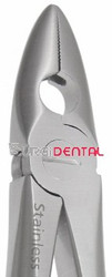 Mead 1 Extracting Forceps, Upper Incisors