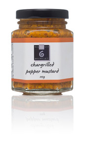 Chargrilled Pepper Mustard 115g