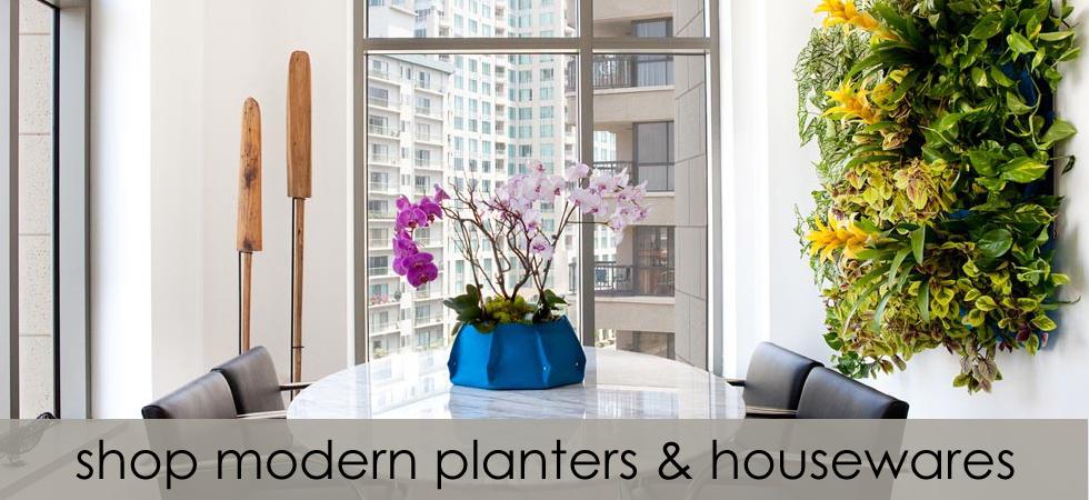 Shop Modern Planters & Housewares