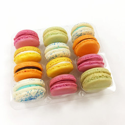 Oh Boy or Girl!!! - 12 French Macarons