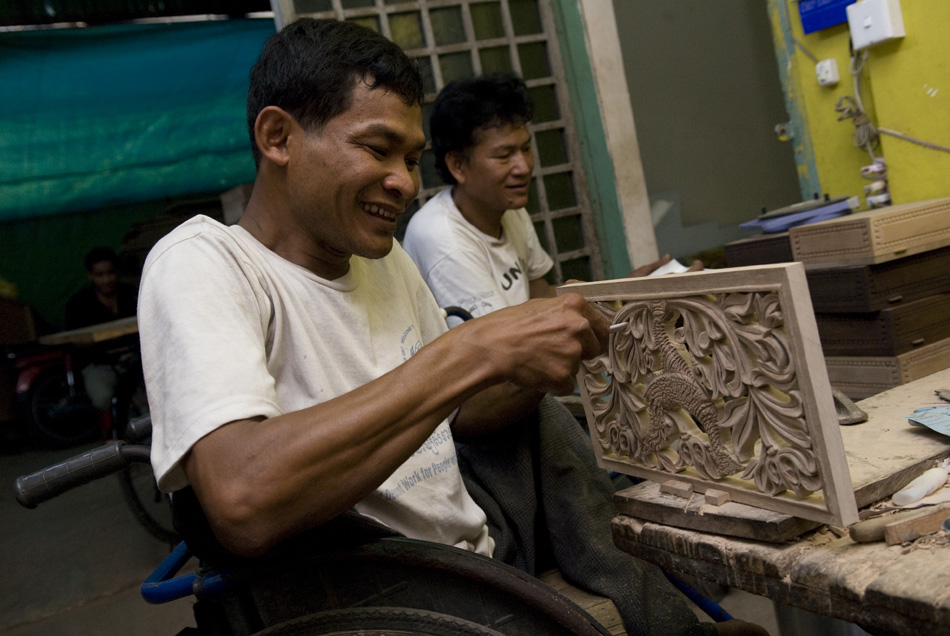 Oz Fair Trade supports Rehab Craft Cambodia
