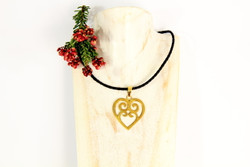 fair trade ethical recycled jewellery love necklace