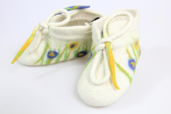 winter fair trade baby shoes