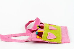 fairtrade kids pink bag