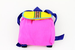 Pink backpack for toddler