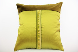 Mossgreen cushion with eco insert
