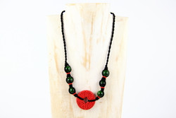 Good luck necklace handmade in Yunnan