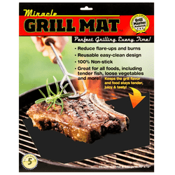 Miracle grill mats will have you grilling like a master chef.