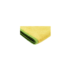 Yellow Microfiber Cloth for cleaning cars, windows or around the house.