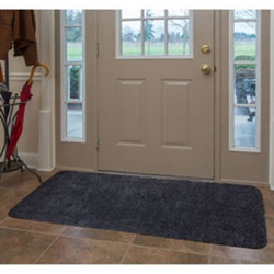 "Charcoal Microfiber Door Mat Runner 30""x60"""