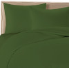 Forest Green Colored Bamboo Sheet