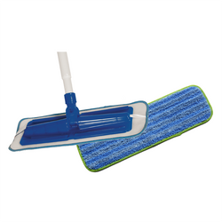 MicroFiber Mop with Telescopic Handle & (1) Microfiber Microgliss Pad