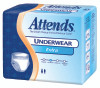 Absorbent Underwear Attends Pull On Large Disposable Moderate Absorbency (Case of 4) (Attends Healthcare Products AP0730)