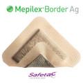 Mepilex Border Ag Antimicrobial Foam Dressing 3 X 3 Inch (5/BOX)