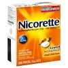 Stop Smoking Aid Nicorette 2 mg Gum (1 Box) (Glaxo Smith Kline 30766785750)