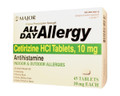 All Day 10 mg Allergy Relief Tablet Cetirizine 45 per Bottle (1 Bottle) (Major Pharmaceuticals 904585243)