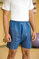 MediShorts® Exam Shorts Large / X-Large Navy Blue Non-Woven (Case of 50) (Graham Medical Products 66030)