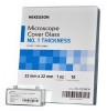 Cover Glass McKesson Square #1 Thickness 22 X 22 mm (Box of 10) (McKesson 70-1121MCK)