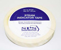 Steam Indicator Tape 0.75 Inch X 60 Yard Steam (Case of 24) (SPS Medical Supply ST-048)