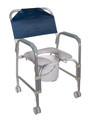 Commode / Shower Chair Aluminum Frame (1 EA) (Drive Medical 11114KD-1)