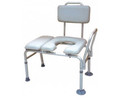 Bath / Commode Transfer Bench drive 18.5 to 22.5 Inch 400 lbs. Removable Arm Rail (1 EA) (Drive Medical 12005KDC-1)