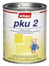 Milupa PKU 2 500 Gram Can Powder (Case of 2 Cans) (Milupa Metabolics OR Nutricia 659346)