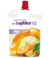 PKU Lophlex LQ Oral Supplement Juicy Orange Flavor 4.2 oz. Pouch (Case of 30) (Nutricia 86051)