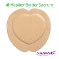 Mepilex Border Sacrum Foam Dressing 9.2 X 9.2 Inch (Molnlycke #282400, Case of 25)