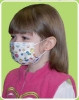 Face Mask Pleated Earloop and Nose Wire Child (Case of 750) (Precept Medical Products 15150)
