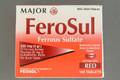 FeroSul Ferrous Sulfate 325 mg Tablet (Pack of 100 Tablets) (00904759082)