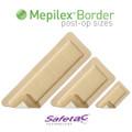 Mepilex Border Foam Dressing 4x8 Inch (Molnlycke #295800, Case of 25)