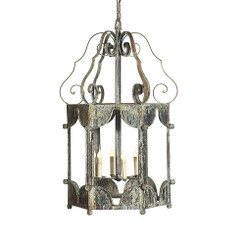 French Iron Matilda Lantern 6 Light